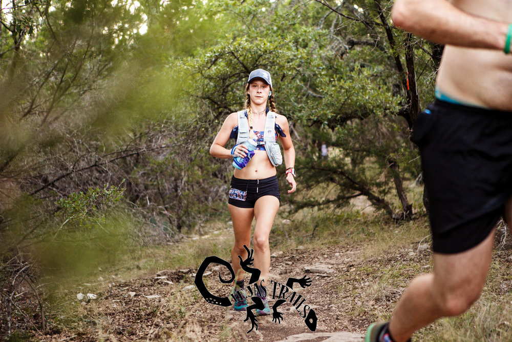 Hydration Vest  //  Shorts  //  Running Watch  //  Sports Bra