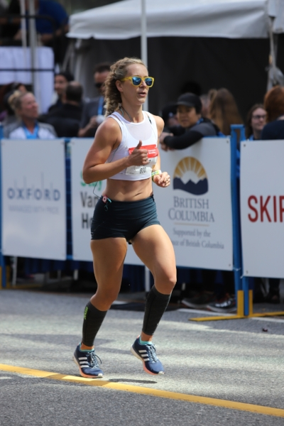 Sports Bra  //  Running Shorts  //  Watch  //  Sunglasses  //  Compression Sleeves