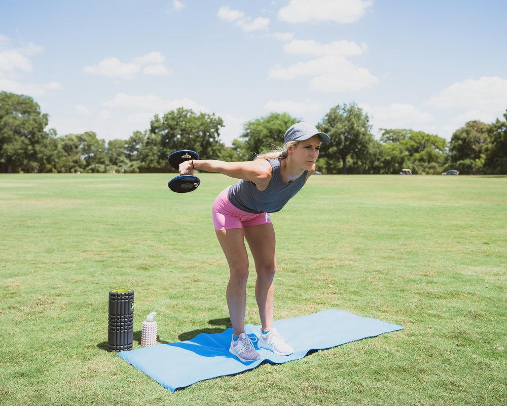 hyperwear upper body workout sandbag swift fitness