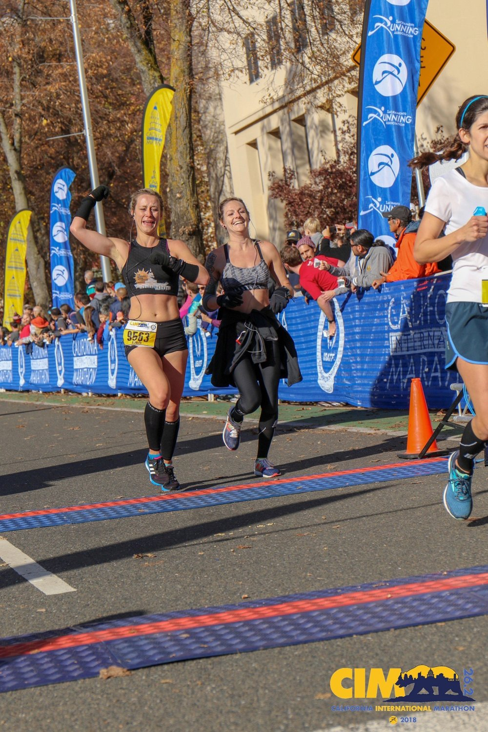 CIM international marathon race report