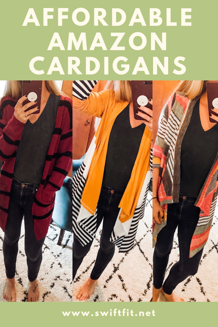 #3 - 6 INCREDIBLY AFFORDABLE FALL CARDIGAN OPTIONS FROM AMAZON!