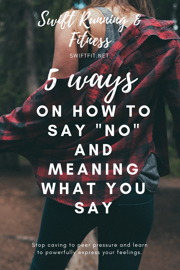 Learning How to Say No