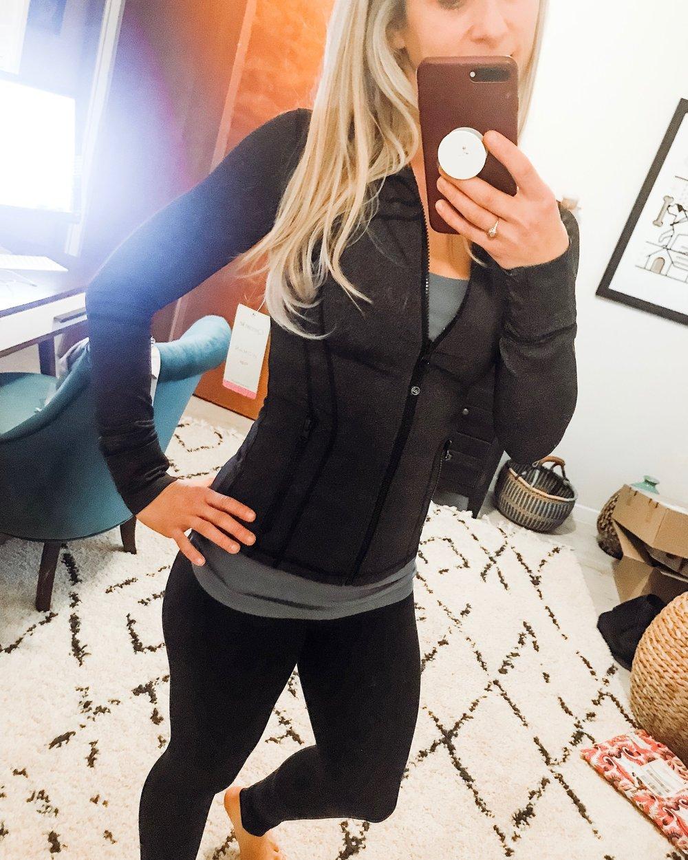 Amazon Dupe for Lululemon Define Jacket