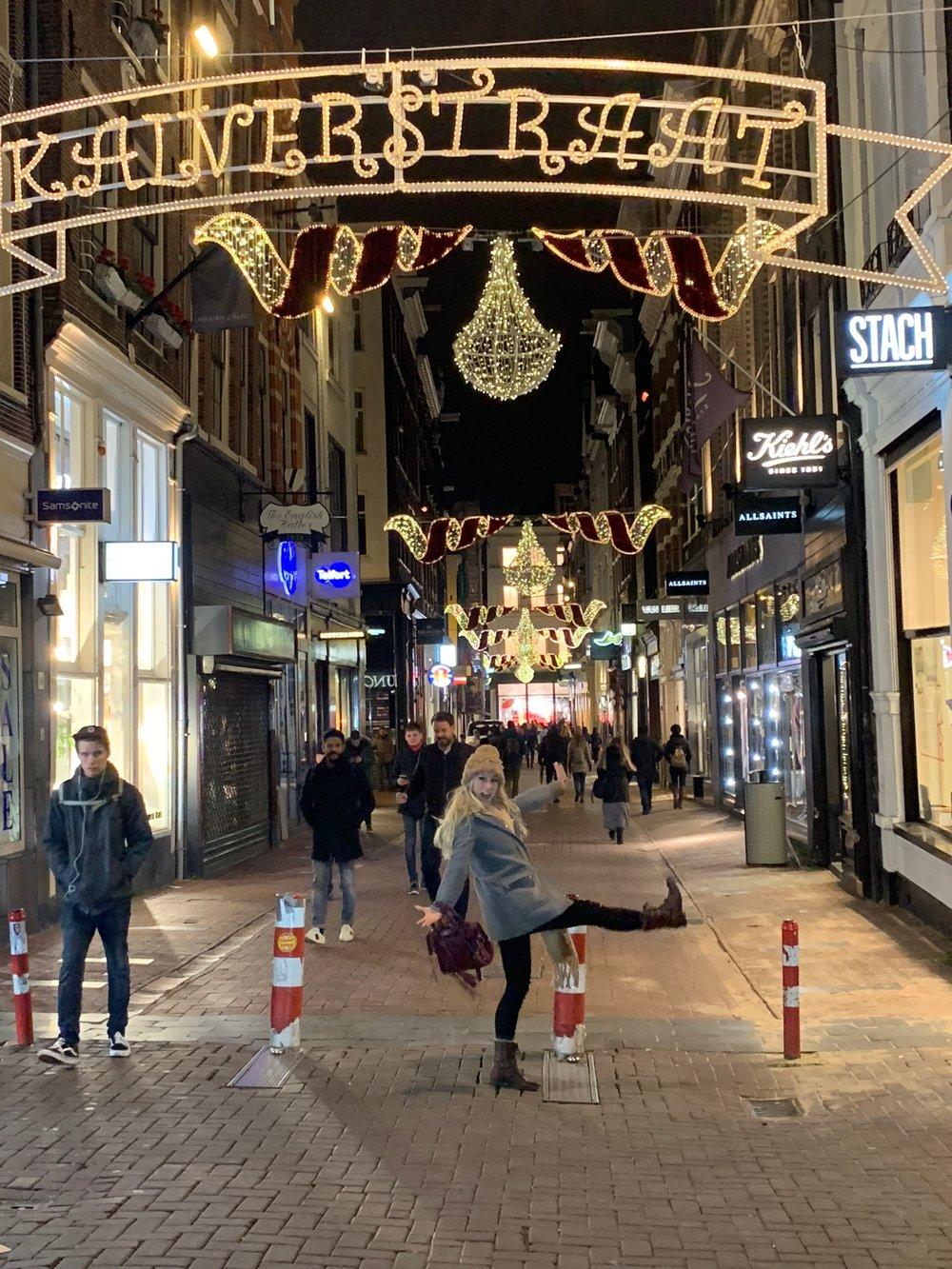 Eating my Way Through Amsterdam