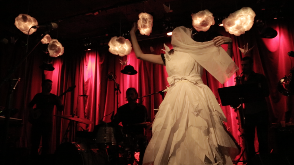Paper Wedding Dress (in Collaboration with Blood and Glass)