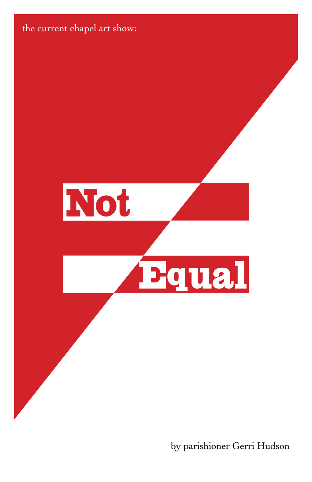 Not Equal - Jerri Hudson.jpg