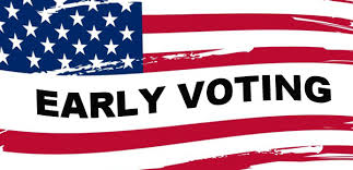 Early voting will be held October 17 to November 3 Election Day is November 6