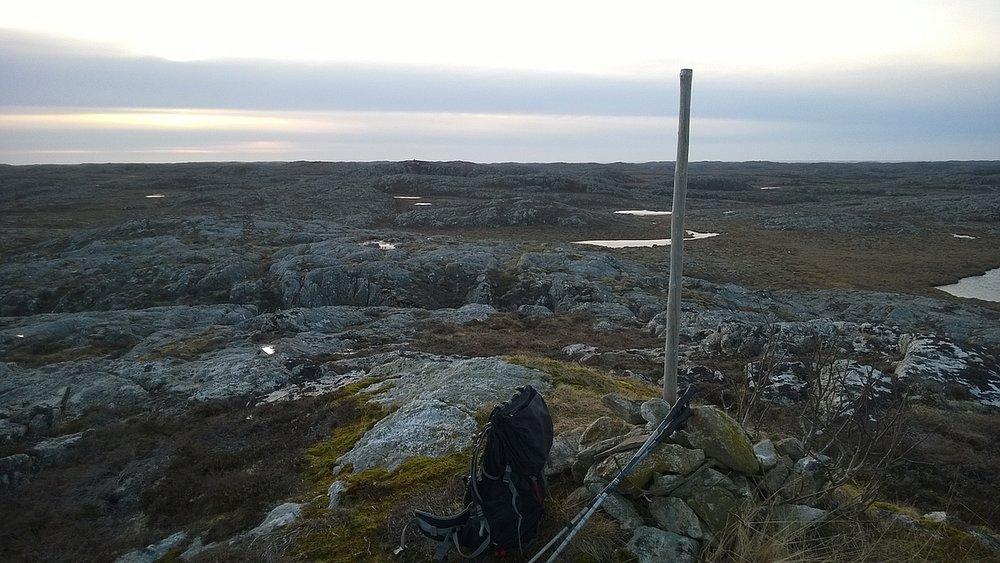 Besselvassheia, Frøya. Foto: Ole-Petter Andersen. www.peakbook.org