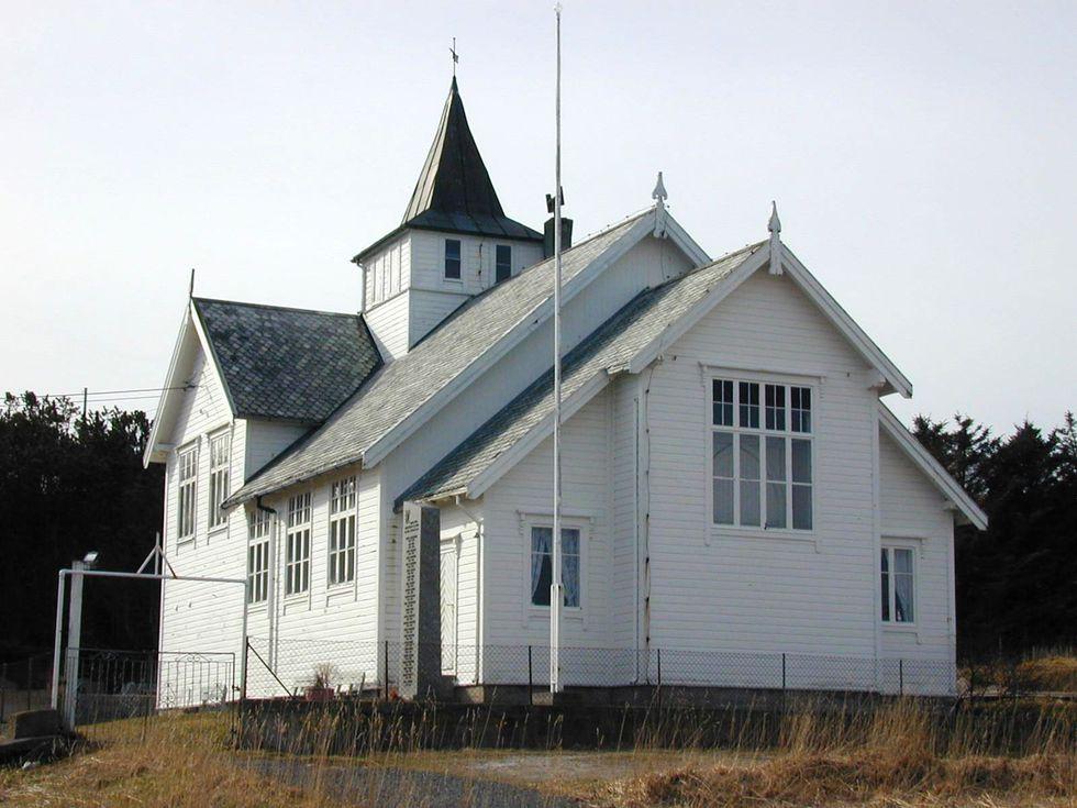 Sula kapell, foto Hitra-Frøya lokalavis