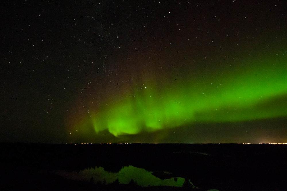 Nordlyset over Frøya