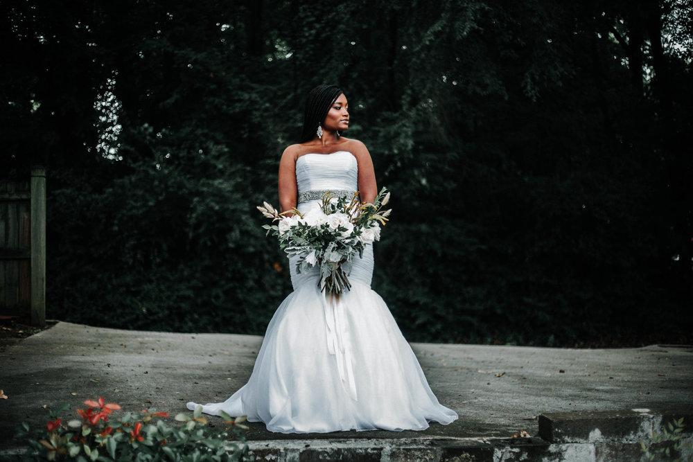 Tori's bridal shoot - The Greenhouse - Norcross, georgia