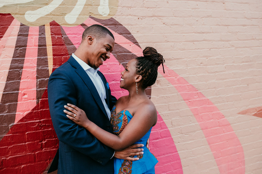 cameron + vicky - downtown - duluth, georgia