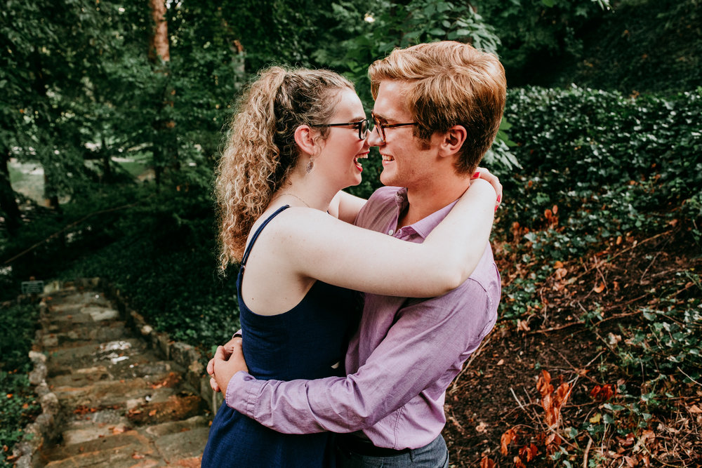 Jonathan + brianna - falls park on the reedy - greenville, south carolina