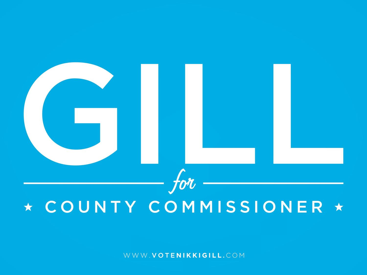 Nikki Gill for County Commissioner