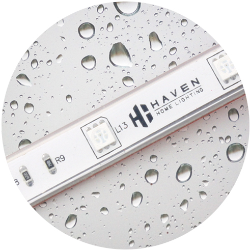 Waterproof to IP68