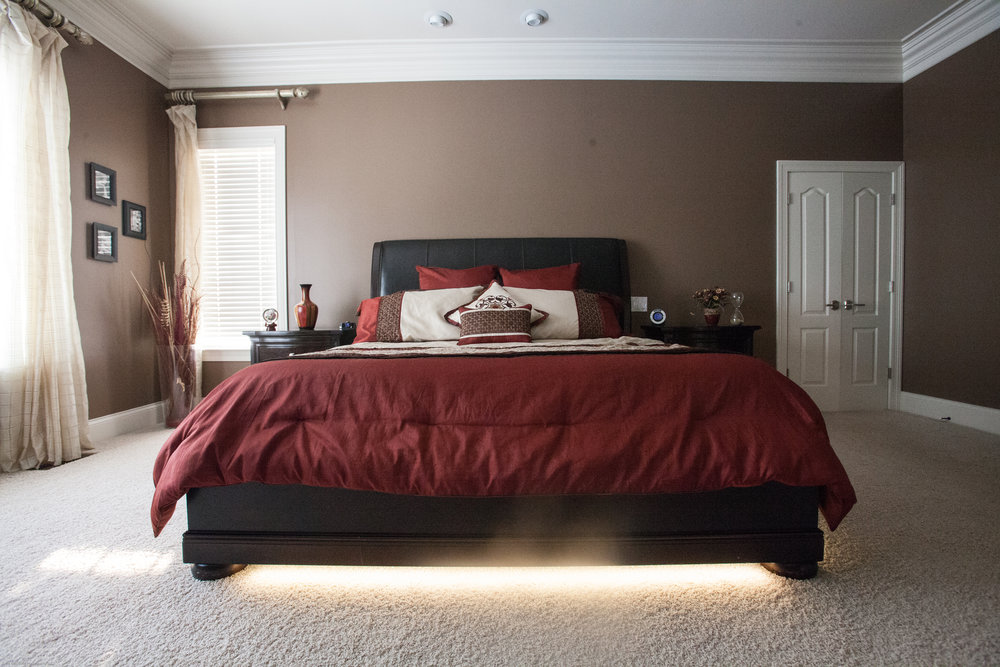 Toe Kick accent lights used in kitchens or bathrooms.