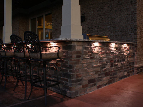 Led accent lights for outdoor living spaces haven home lighting counter accent lights aloadofball Gallery