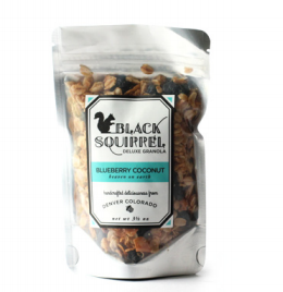BLACK SQUIRREL GRANOLA - $6