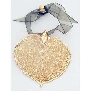 ASPEN LEAF ORNAMENT - $12