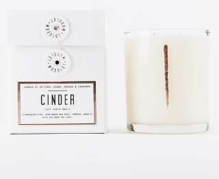 WOODLOT - Cinder, Cozy Cabin Magic - $36