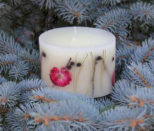 ROSY RINGS - Botanical candle - $44 - $88