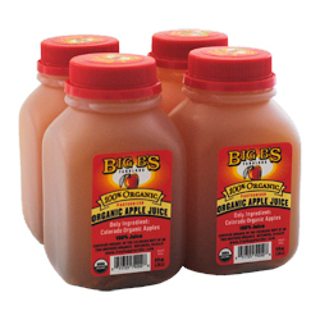 BIG B'S APPLE JUICE - $4