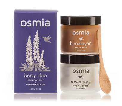 OSMIA ORGANICS - Body Buff & Mousse - $35