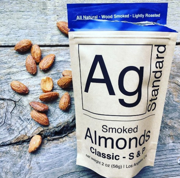 AgSTANDARD - Smoked Almonds - $6