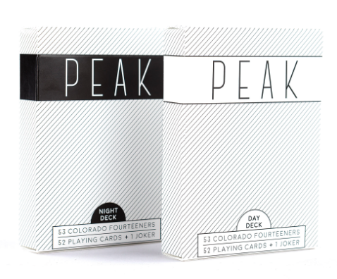 PEAK PLAYING CARDS - Colorado 14ers - $16