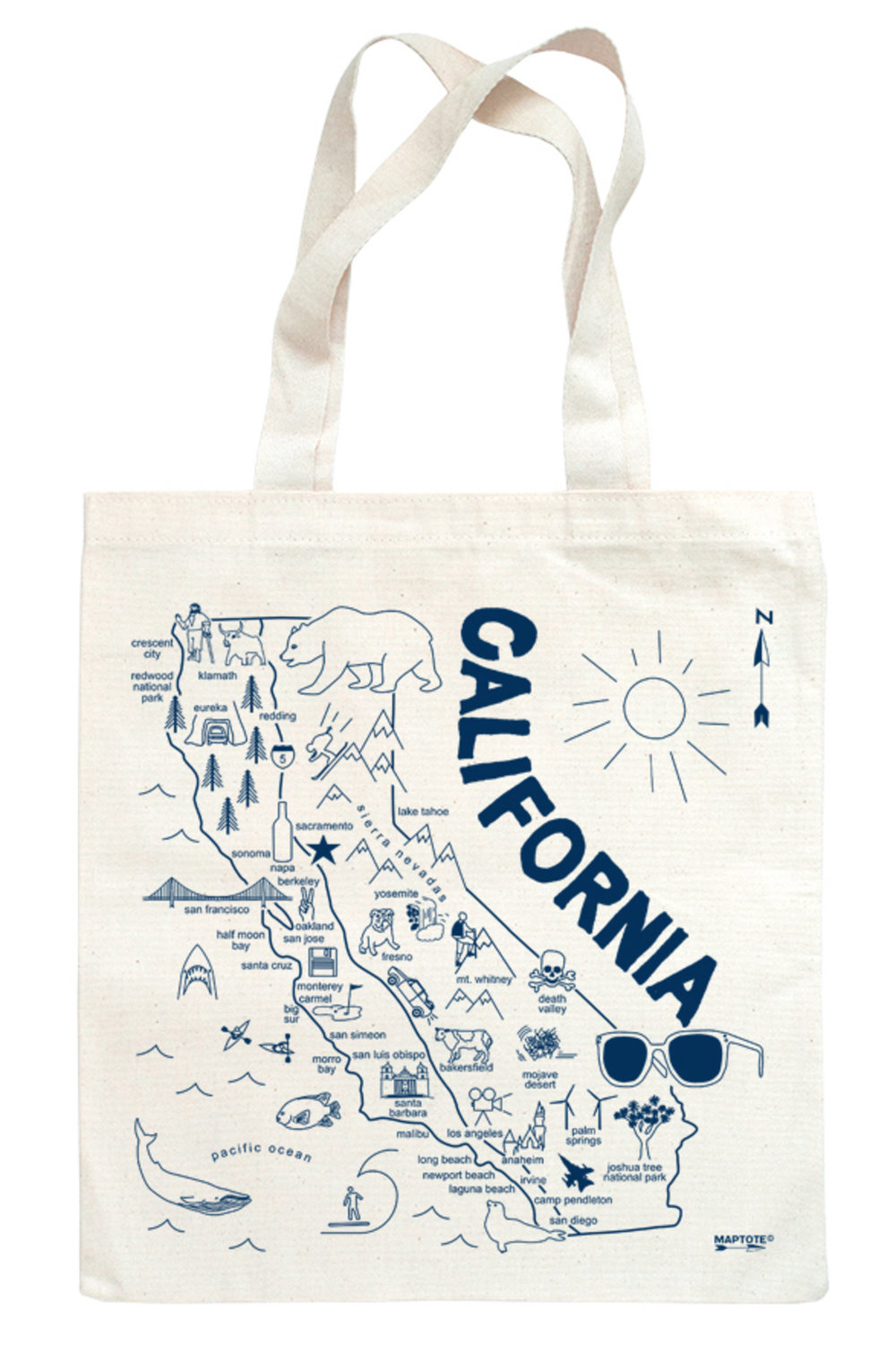 Maptote - Multiple Locations Available - $2010 Bag Minimum