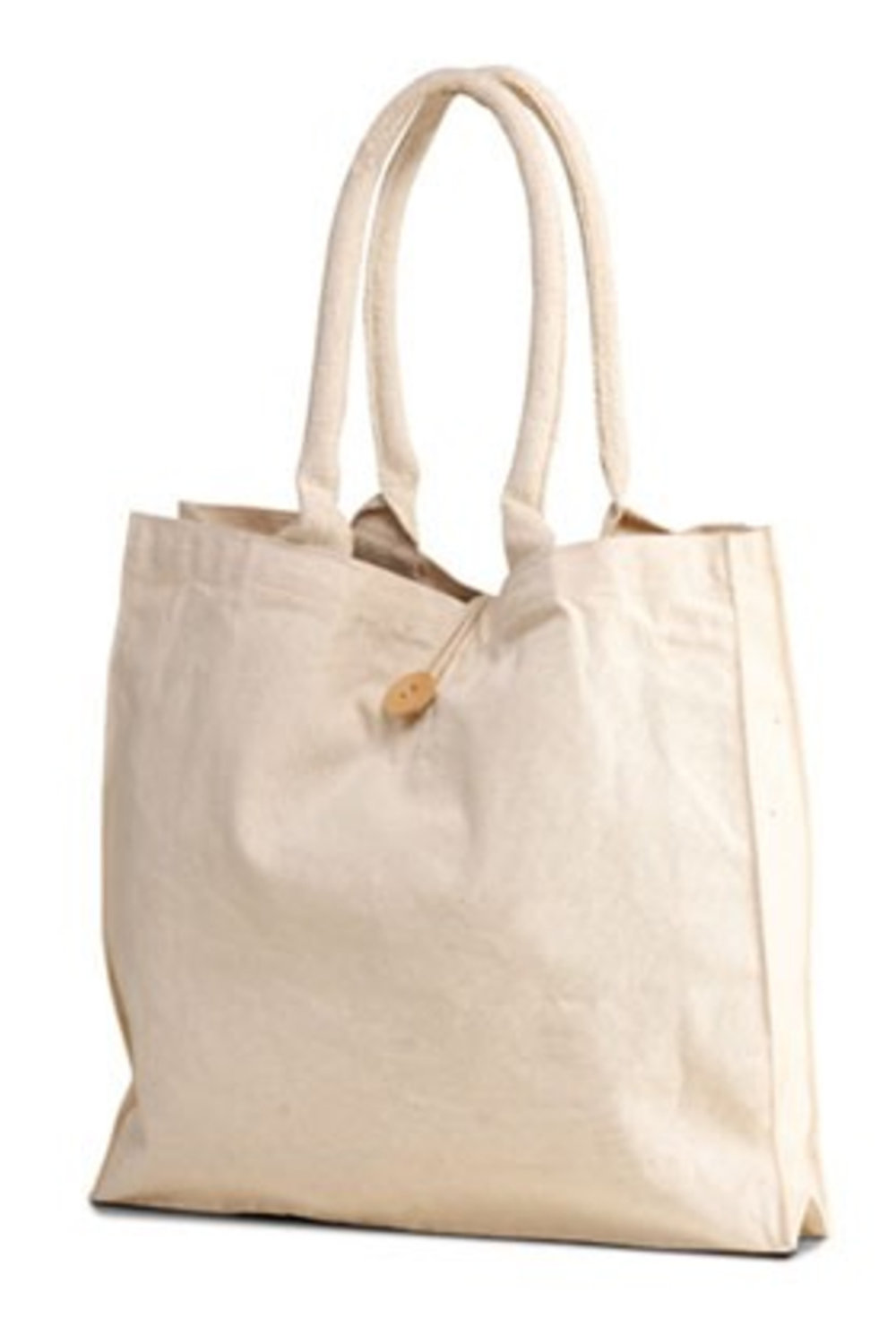 Cotton Canvas Tote - Blank - $14 / w/ Logo - $1925 Bag Minimum