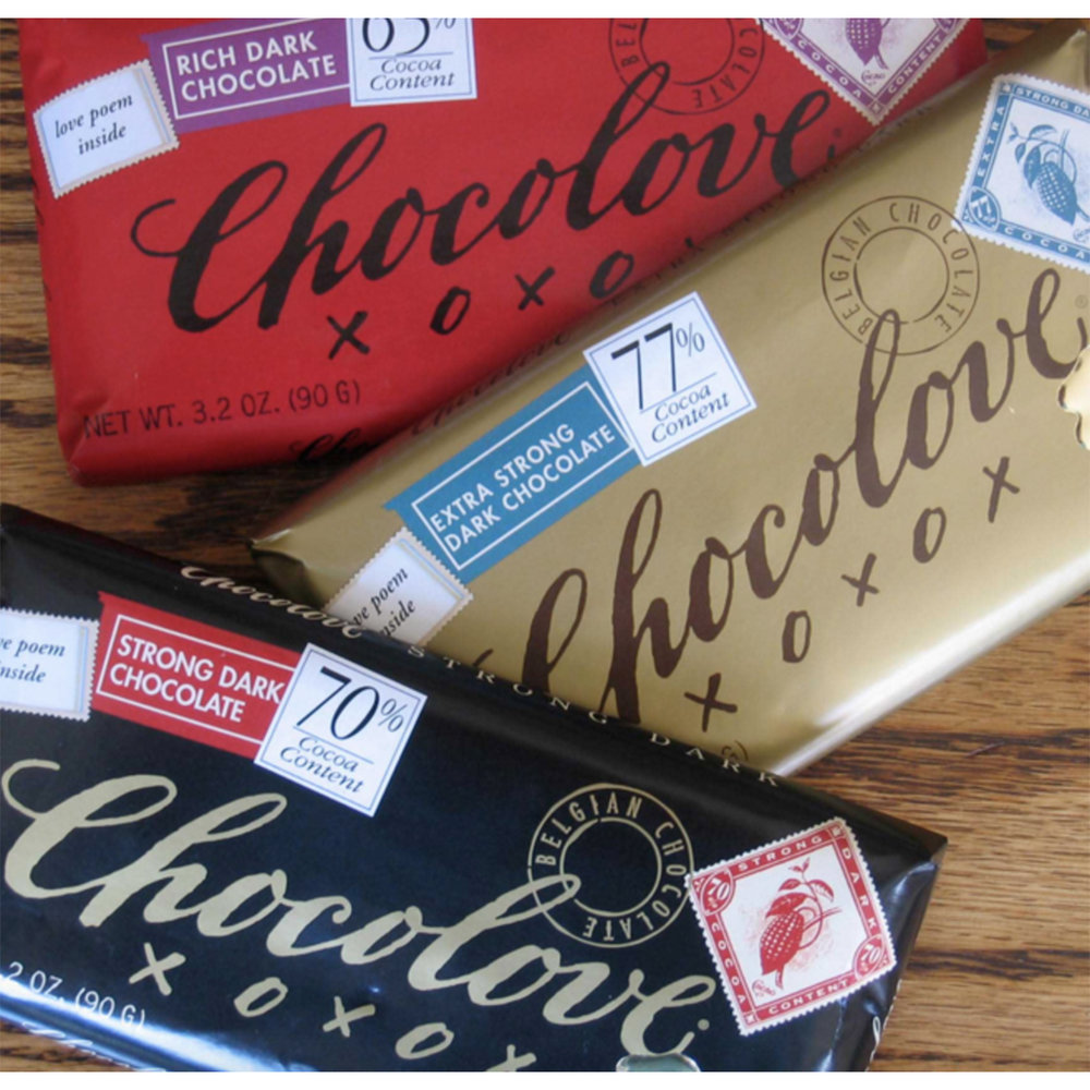 Chocolove - Small - $2 / Large $4