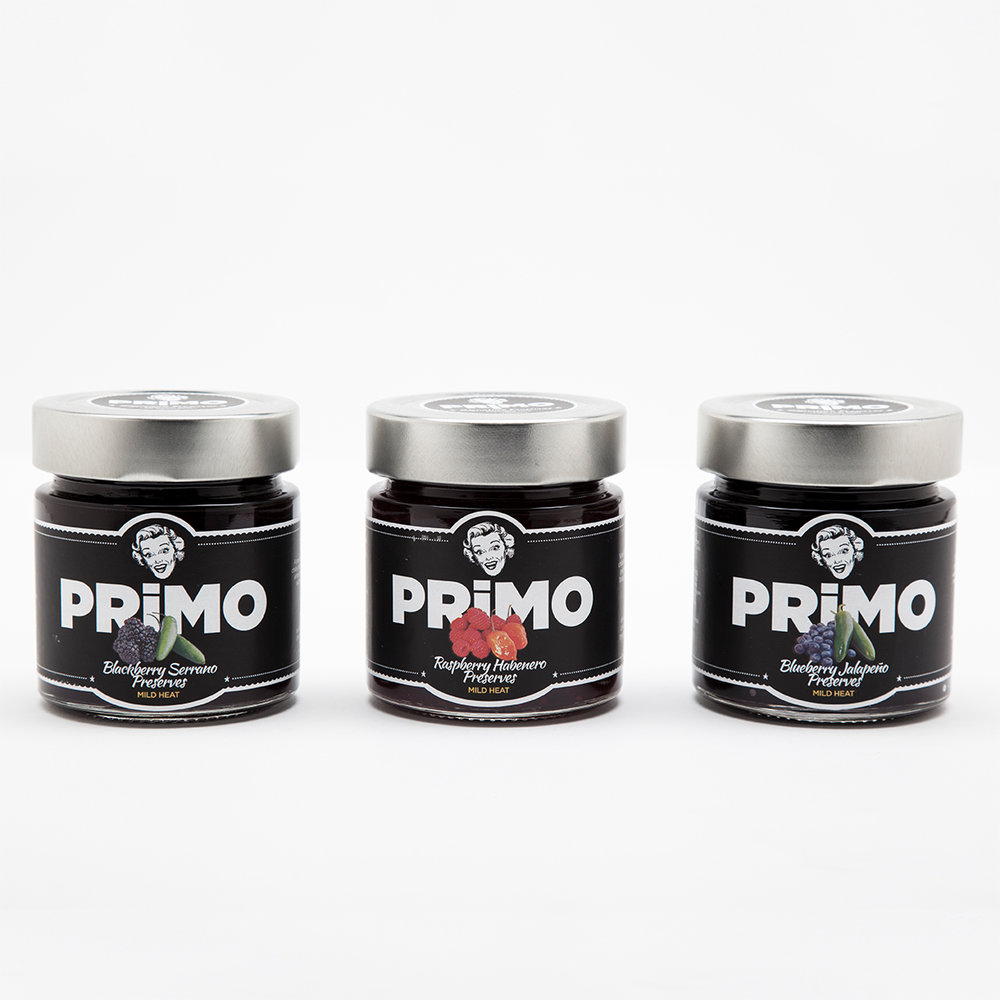 Primo Preserves - Blueberry Jalapeño - $10Multiple Flavors Available