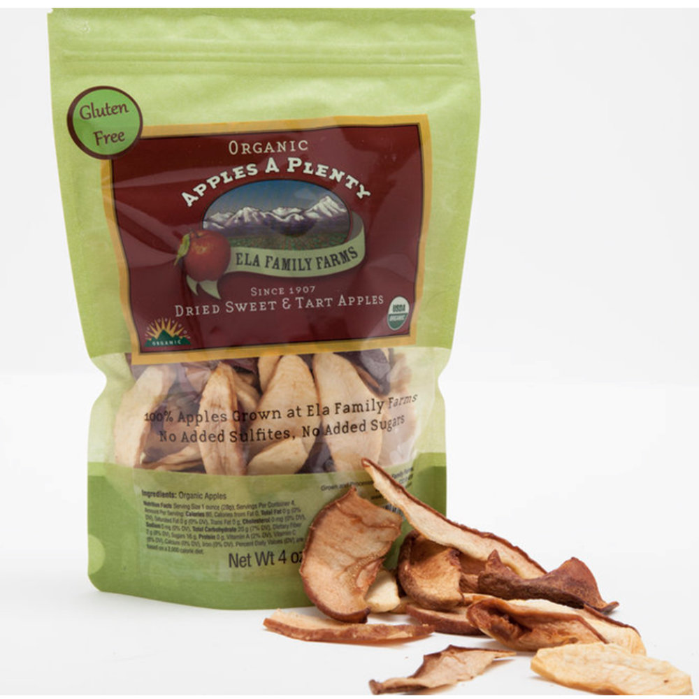 Ela Family Farms - Dried Apples - $6Colorado Harvest Available