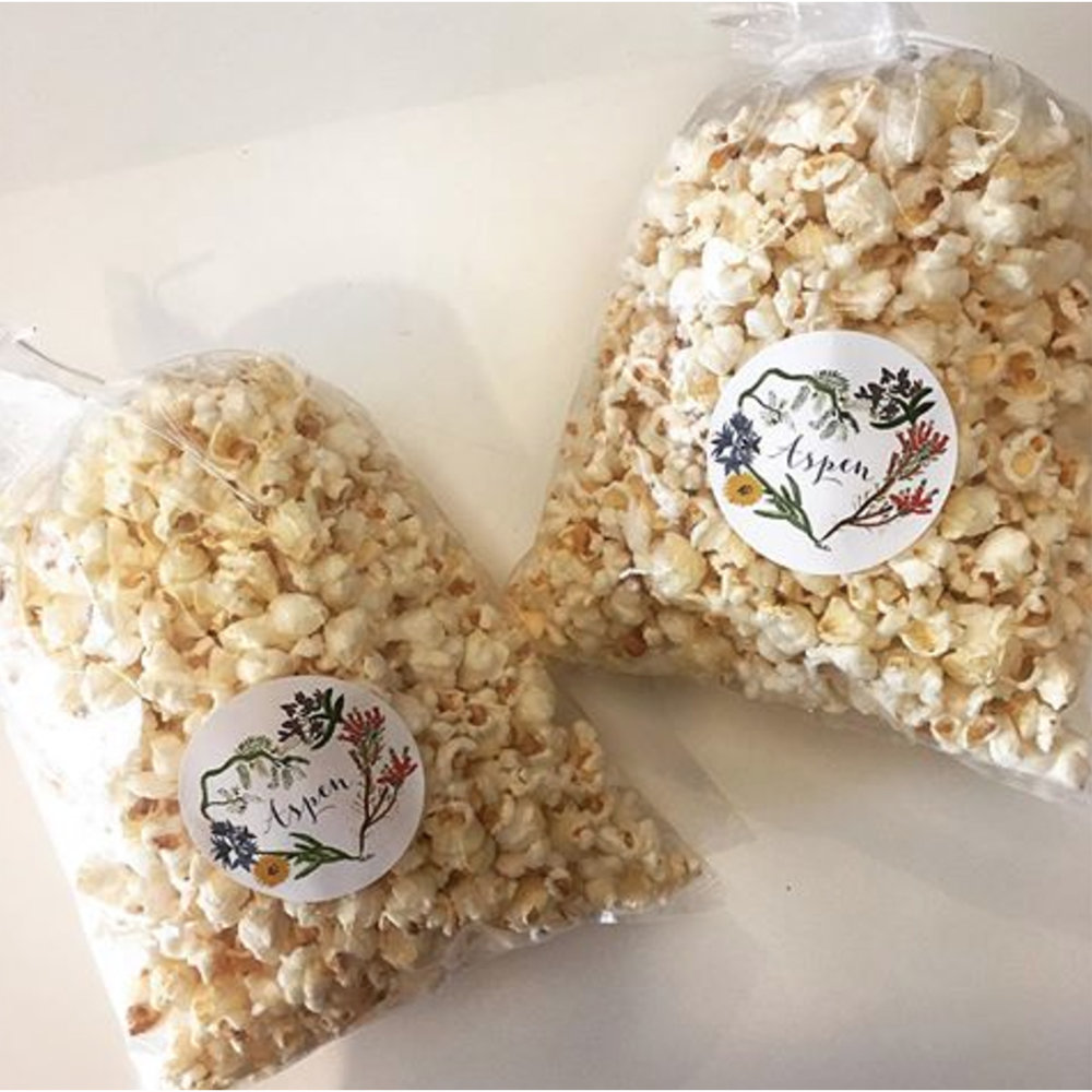 Aspen Kettle Corn - Small - $7 / Large $11