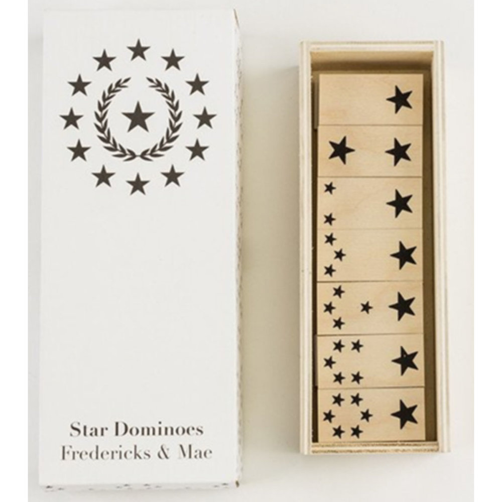Fredericks & Mae - Star Dominoes - $38