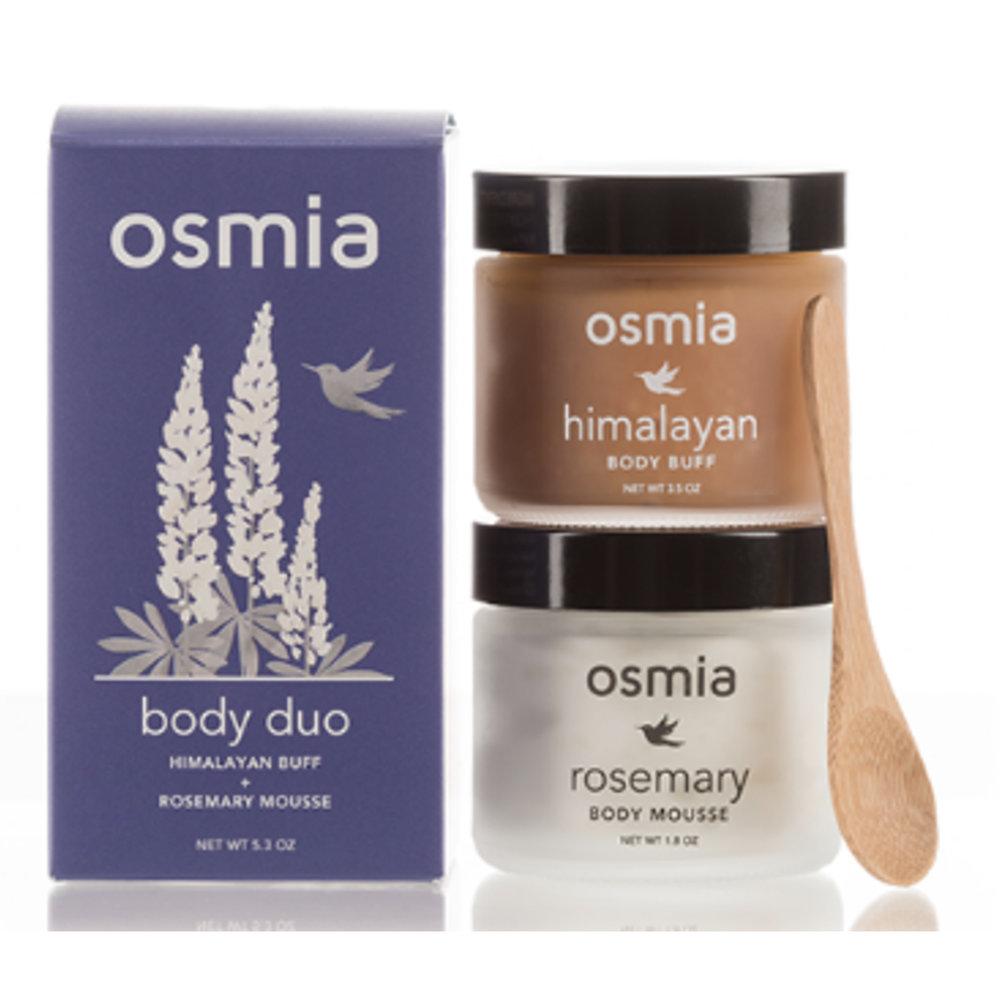 Osmia Buff & Mousse - $35