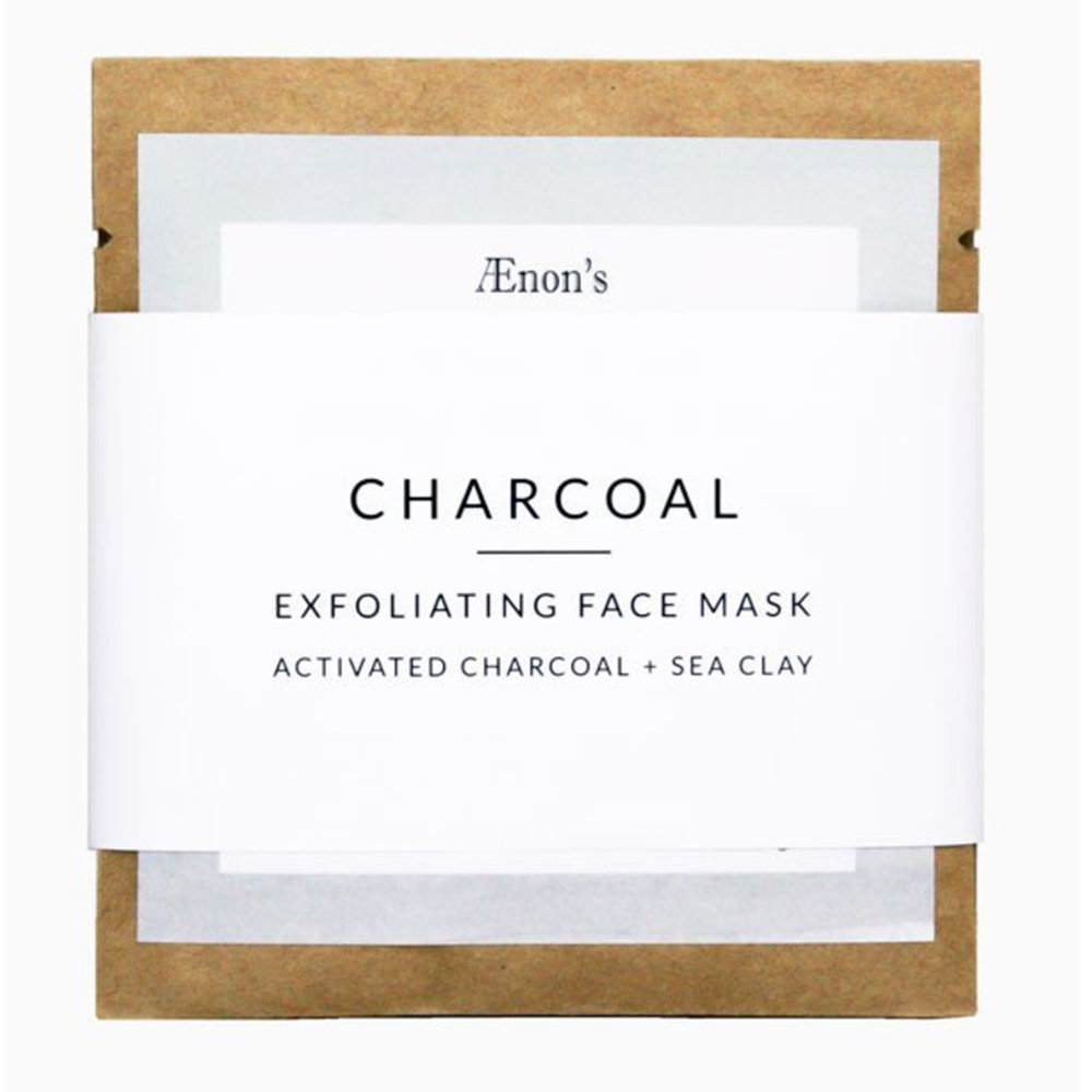 Aenon Face Mask - Charcoal Exfoliating Mask - $4