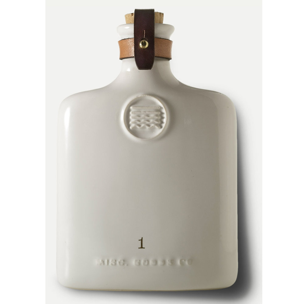 Ceramic Flask - White or Black - $92