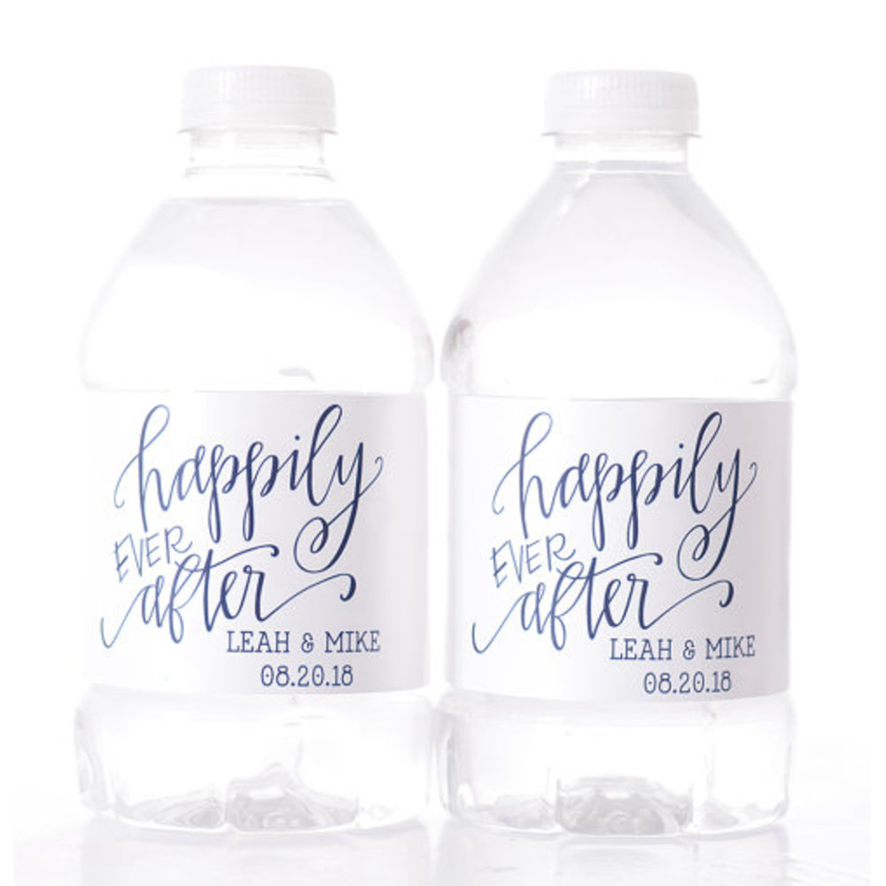Custom Label Waters - $2 - $4