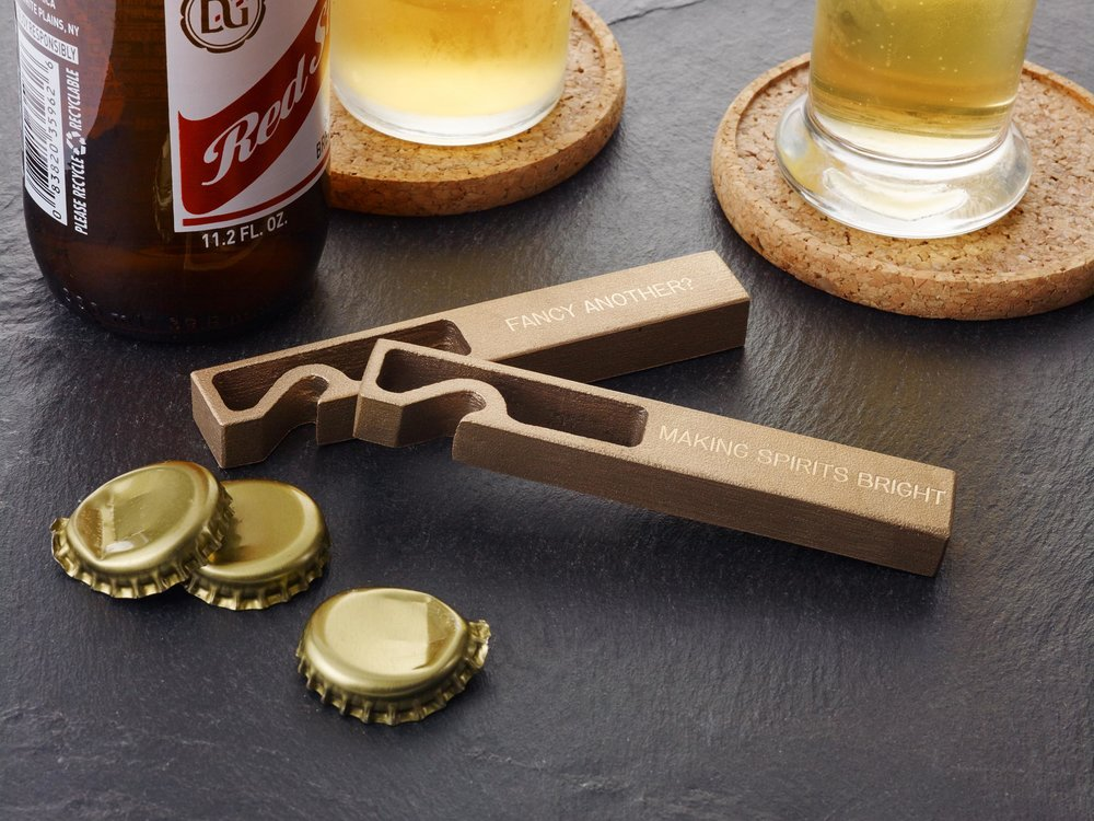 Brass Bottle Opener - Fancy Another - $28