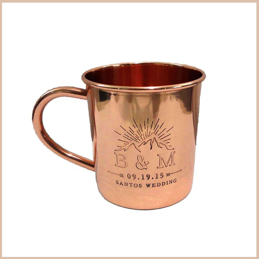 Custom Copper Mug