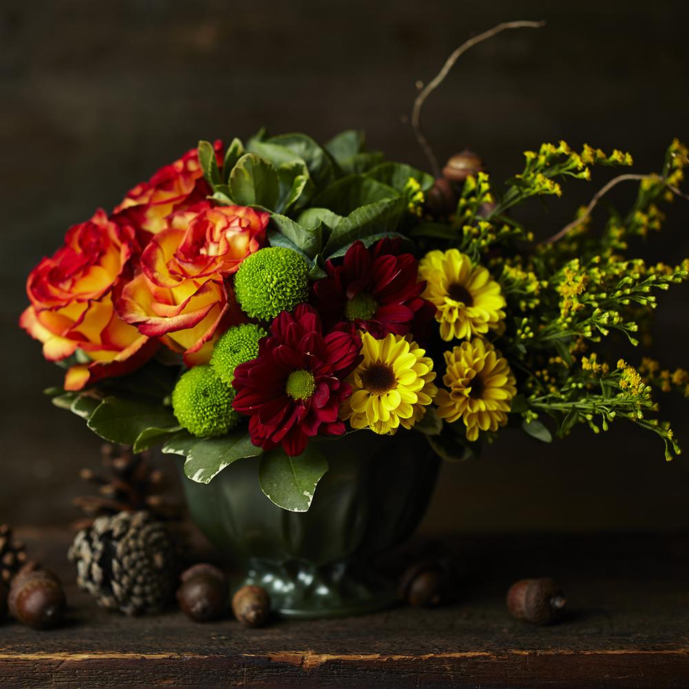 Autumnal Harvest | Thanksgiving table centrepiece