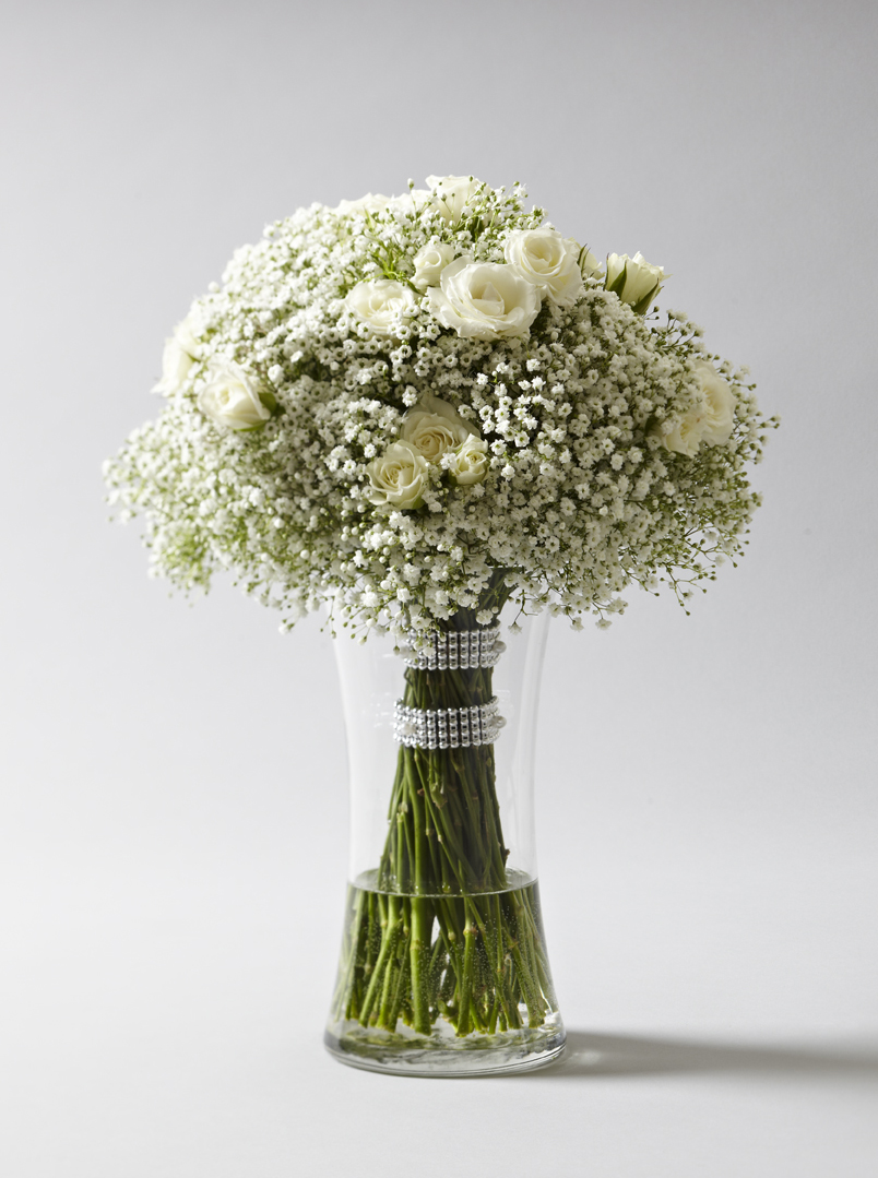 Ethereal Whites | Bridal bouquet featuring gypsophila