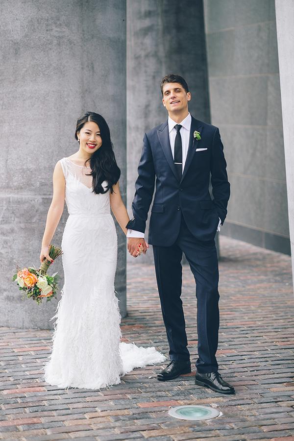 """LOVE in the Heart of Toronto.""  The Wedding Co. Blog,  November 21, 2014. Photo: Toronto Wedding Studios"