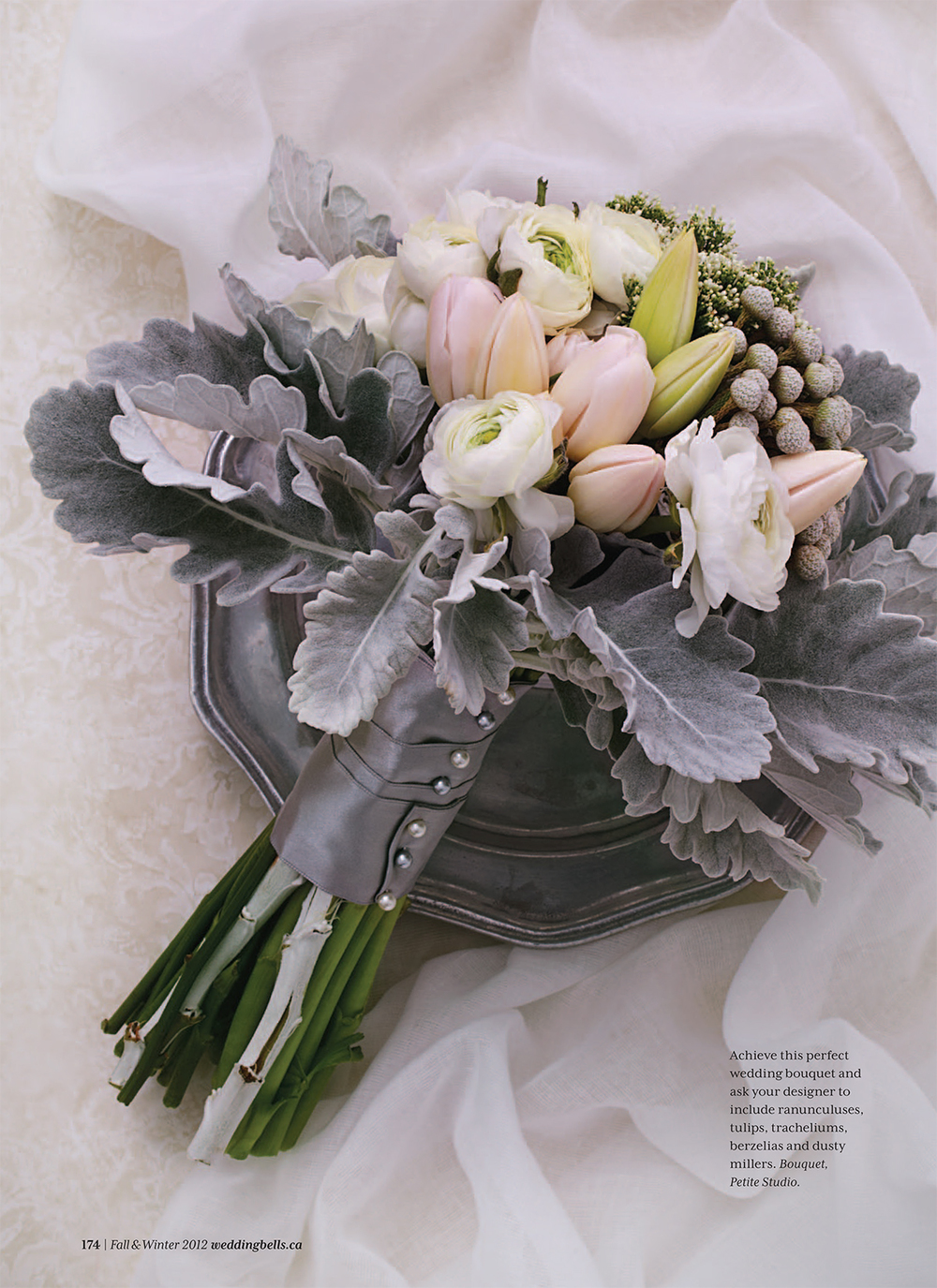 """Feel the Love.""  Weddingbells Magazine,  Fall/Winter 2012. Photo: Maya Visnyei. Styling: Catherine Doherty"