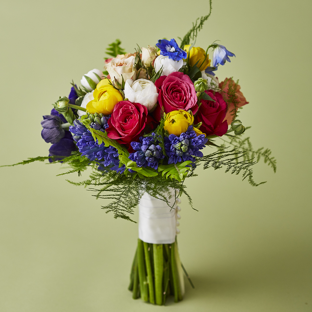 Spring Brights | Garden-inspired bouquet