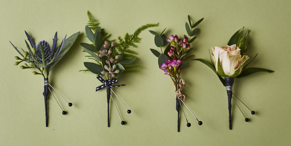 Modest & Natural | Collection of boutonnières