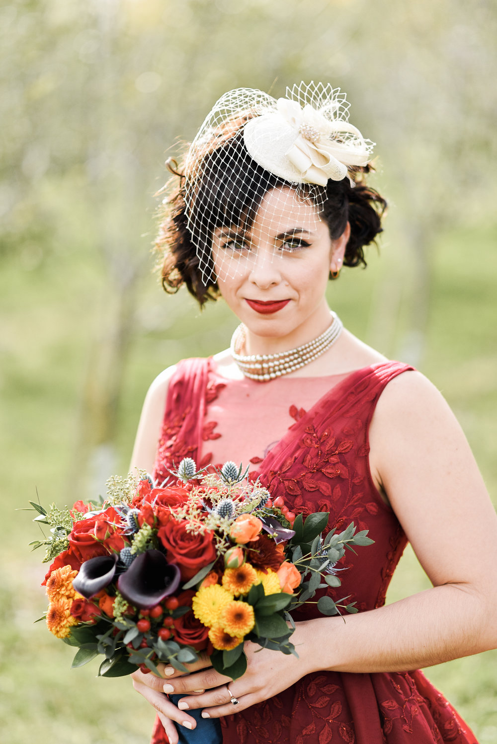 Laura | Autumn Glamour in Prince Edward County | Photo: Alix Gould