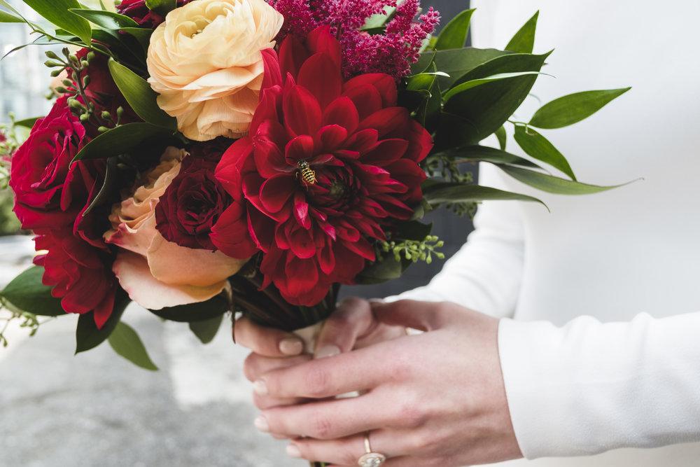 Brittany + Steven | Vibrant, juicy palette | Photo: Shlomi Amiga Weddings